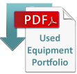PDF downloadable file of LMC's used equipment list